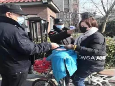 抗擊疫情在行動|小區物業為業主免費發放1200只口罩