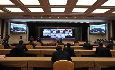 """中国移动""""云视讯""""助力济宁""""两高两新""""产业项目网上签约"""
