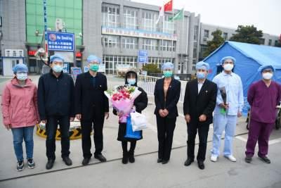 濟寧市第15例新冠肺炎患者治愈出院