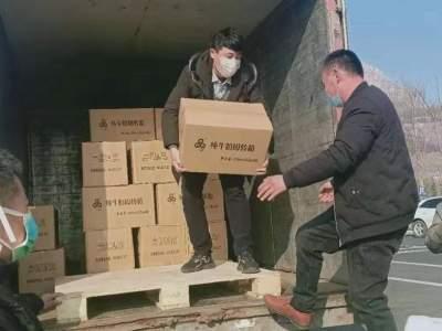"""牛气!泗水女村支书送600箱牛奶支援""""战疫"""""""