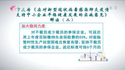 权威解读|济宁市加大稳岗力度 优化政务服务