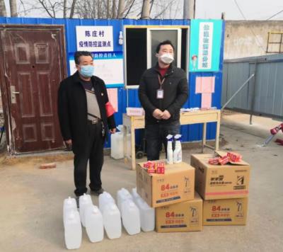 濟寧高新區王因街道鄉村振興服務隊全方位做好疫情防控工作