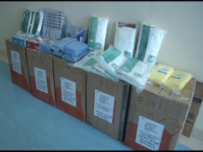 來自大洋彼岸的牽掛!海外華人捐贈防疫物資運抵濟寧