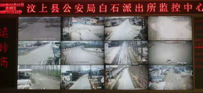 """汶上县白石镇全警战""""疫""""护群众安全"""