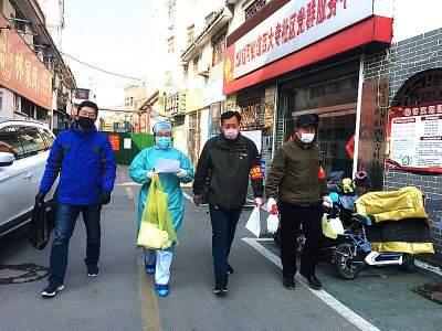 """""""一名党员 两种身份"""" 社区党委书记魏强坚守战""""疫""""一线"""