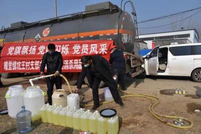 1名村支書管了89個村,30噸消殺用品開進村