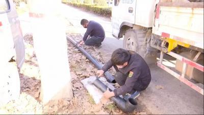 濟寧高新區城鄉供水一體化項目復工 確保14萬群眾喝上放心水
