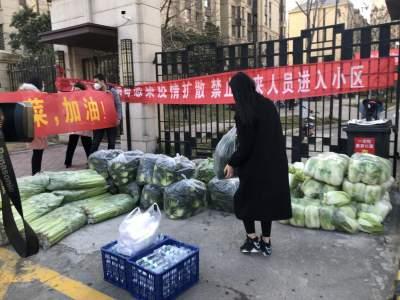 隔離不隔愛 濟寧高新區2噸新鮮蔬菜送到市民家門口