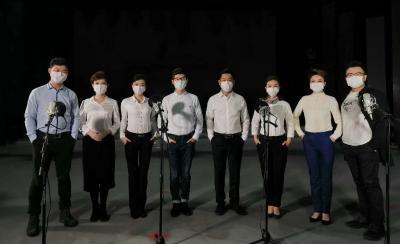 济宁广播电视台推出抗击疫情公益MV《爱的信念》