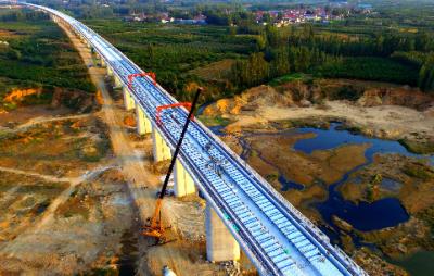 833人已到岗!鲁南高铁济宁段复工开建