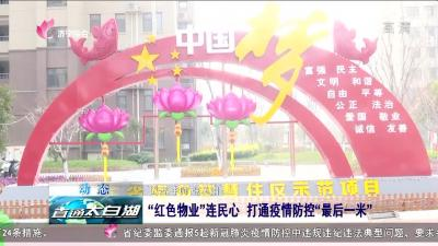 """太白湖:""""红色物业""""连民心 打通疫情防控""""最后一米"""""""