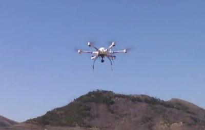 泗水縣:無人機全覆蓋式防火巡山