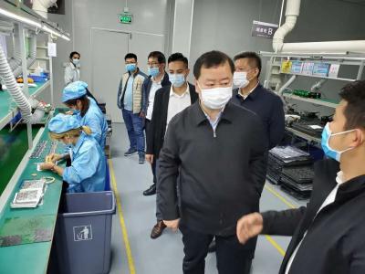 济宁高新区:防疫发展两手抓 招商引资不停摆