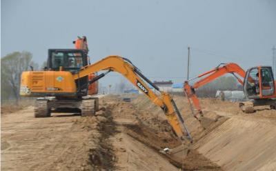 魚臺縣魚城鎮農業工程項目陸續開工建設