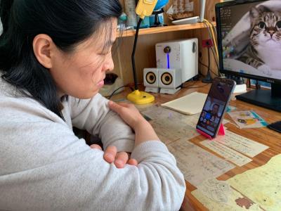 蓼河新城外国语学校:线上家长会 沟通无障碍