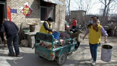 嘉祥万张街道开展青春志愿服务活动 助力脱贫攻坚