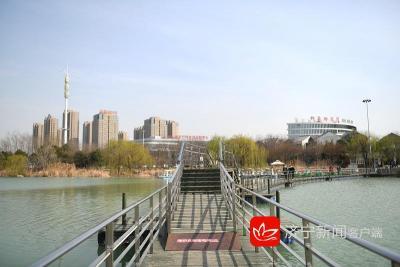 组图丨廖沟河湿地公园的春天