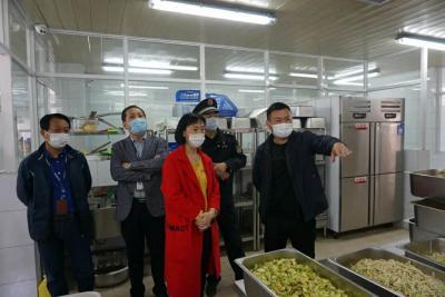 济宁高新区开展餐饮油烟治理专项督导