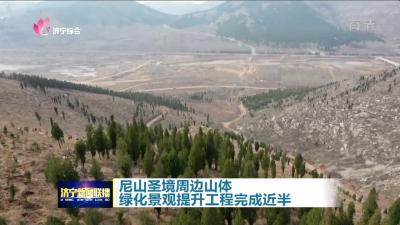 尼山圣境周边山体绿化景观提升工程完成近半