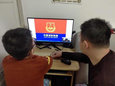 """济宁太白湖""""消防网课""""开课啦 千余名中小学生及家长受益"""