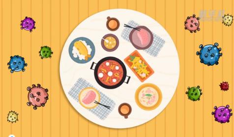 动漫视频:公勺公筷 绿色用餐