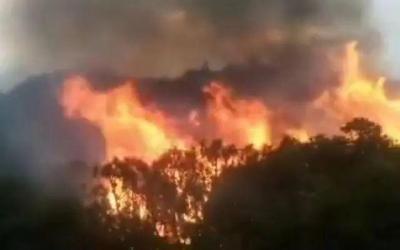 四川木里縣森林火災撲救仍在進行 已啟動三級響應