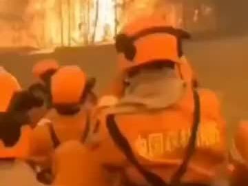 辟谣!部分展现西昌火灾19名牺牲扑火队员生前救火画面的短视频不实