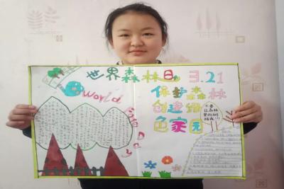 """世界森林日:金乡开展""""空中课堂""""线上教育活动"""