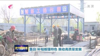 鱼台县委书记董波:补短板强特色 推动高质量发展