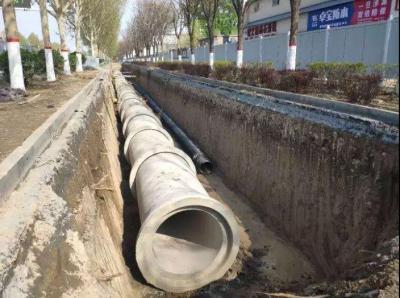 鱼台县湖凌三路雨污分流工程加速推进