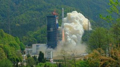 我國成功發射遙感三十號06組衛星