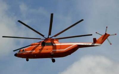 山東派出M-26直升機馳援西昌撲救山火!