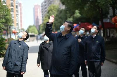 武汉76天,习近平总书记时刻牵挂