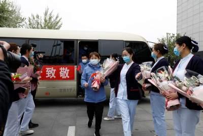 濟寧市援助湖北第一批返濟人員凱旋