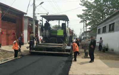 提升村居環境,鄒城市駐村工作組為村民鋪設愛心路