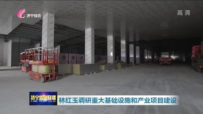 林紅玉調研重大基礎設施和產業項目建設
