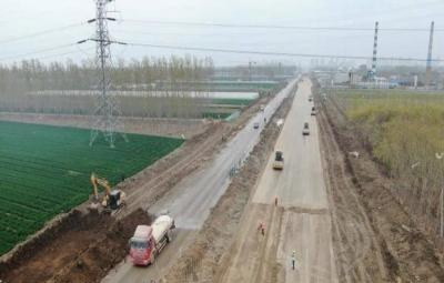 兖州加快兖颜路建设进度 确保如期建成通车