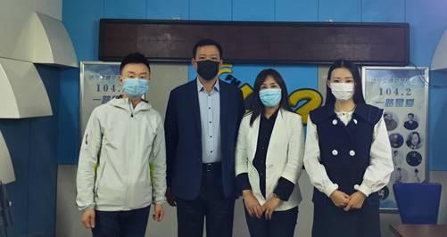 微山县重点景区做客济宁广播电视台公益性融媒体系列访谈