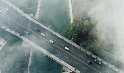 """美哭!""""平流雾""""笼罩太白湖区宛如仙境"""