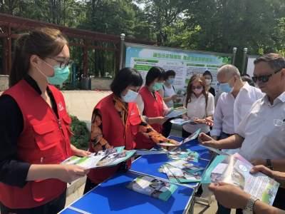 """任城区生态环境分局开展""""国际生物多样性日""""宣传活动"""