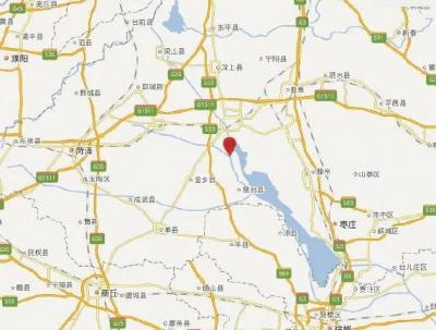 济宁市微山县发生M3.1级地震