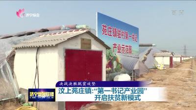 """汶上苑庄镇:""""第一书记产业园""""开启扶贫新模式"""