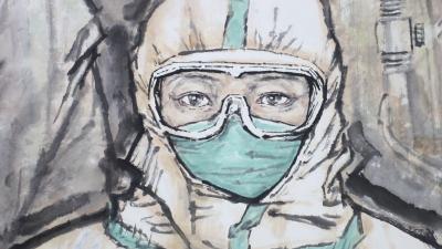 视频 | 济宁抗疫主题艺术作品展开展,值得看!