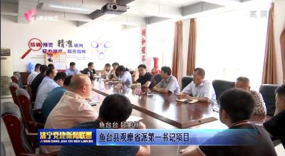 鱼台县观摩省派第一书记项目