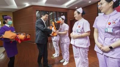 白衣天使,您辛苦了!泗水县人民医院举办护士节表彰大会