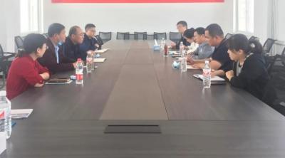 济宁市产研院赴济宁新材料产业园区开展调研活动