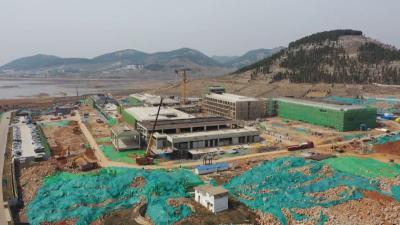 曲阜尼山會堂項目建設進展順利 預計今年7月底竣工