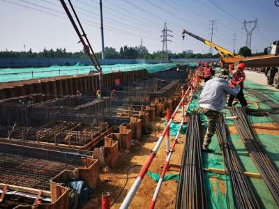 搶回工期!大闔路綜合管廊工程加速推進