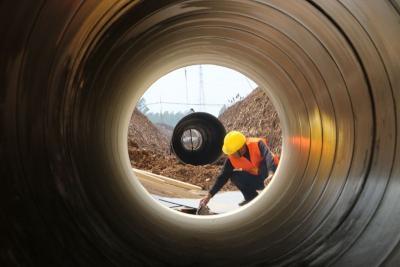 重點項目攻堅年|尼山水庫調蓄水工程全線施工  計劃7月試運行