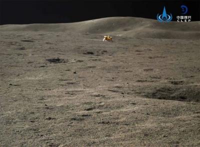 """嫦娥四号和""""玉兔二号""""结束休眠,已奋战500天!"""